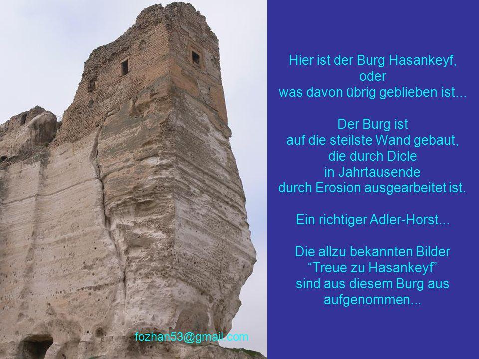 Hier ist der Burg Hasankeyf, oder was davon übrig geblieben ist