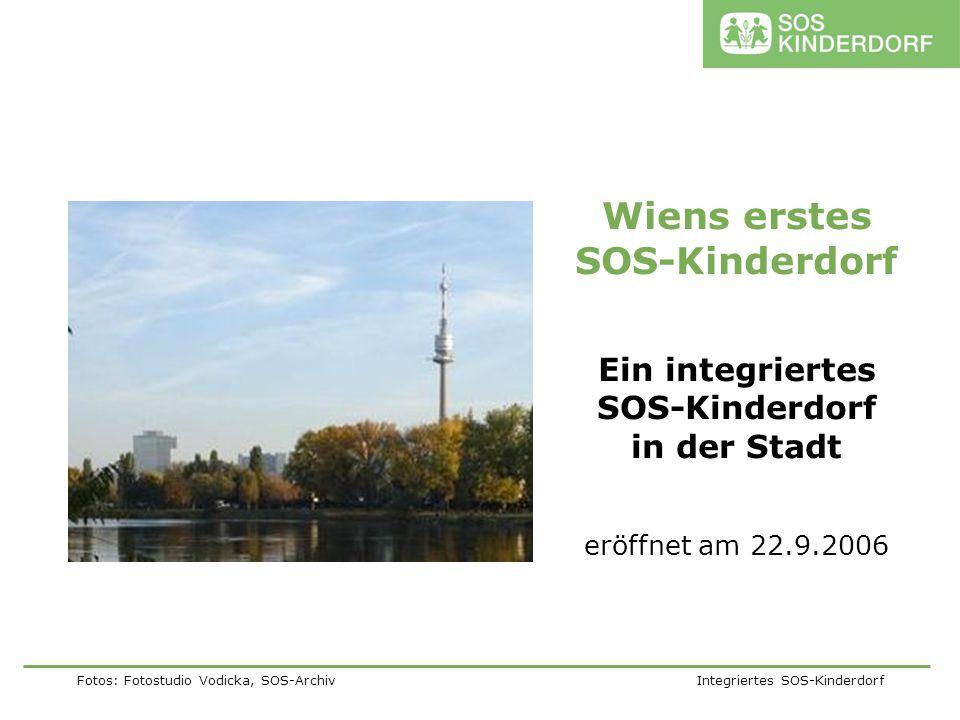 Ein integriertes SOS-Kinderdorf in der Stadt
