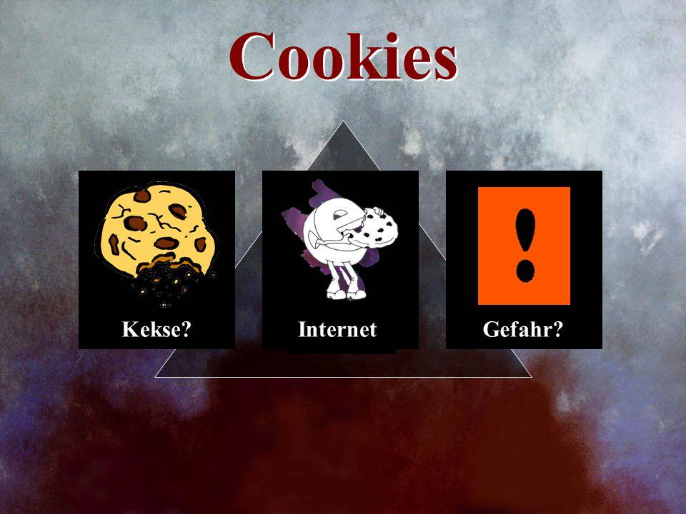 Cookies Kekse Internet Gefahr