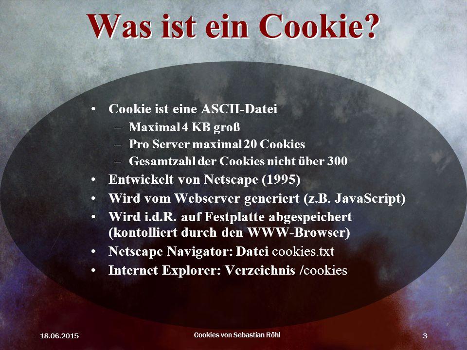 Cookies von Sebastian Röhl