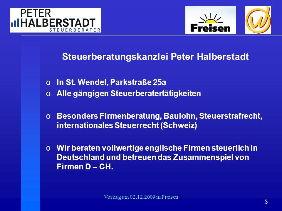 Steuerberatungskanzlei Peter Halberstadt