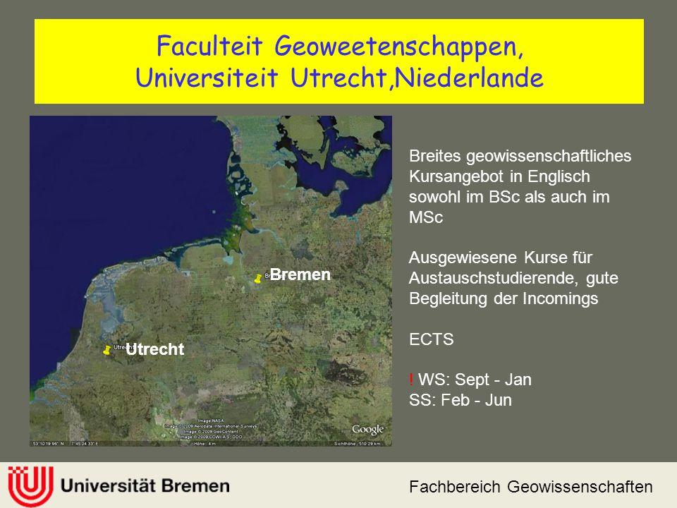 Faculteit Geoweetenschappen, Universiteit Utrecht,Niederlande