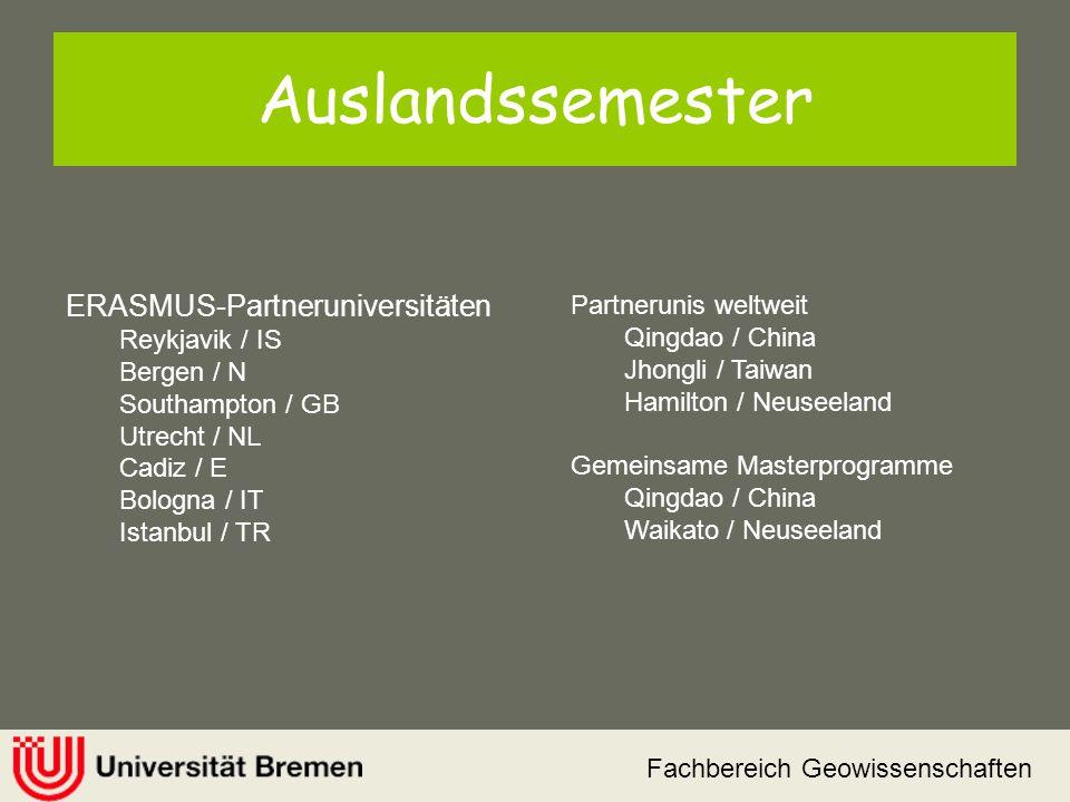 Auslandssemester ERASMUS-Partneruniversitäten Reykjavik / IS