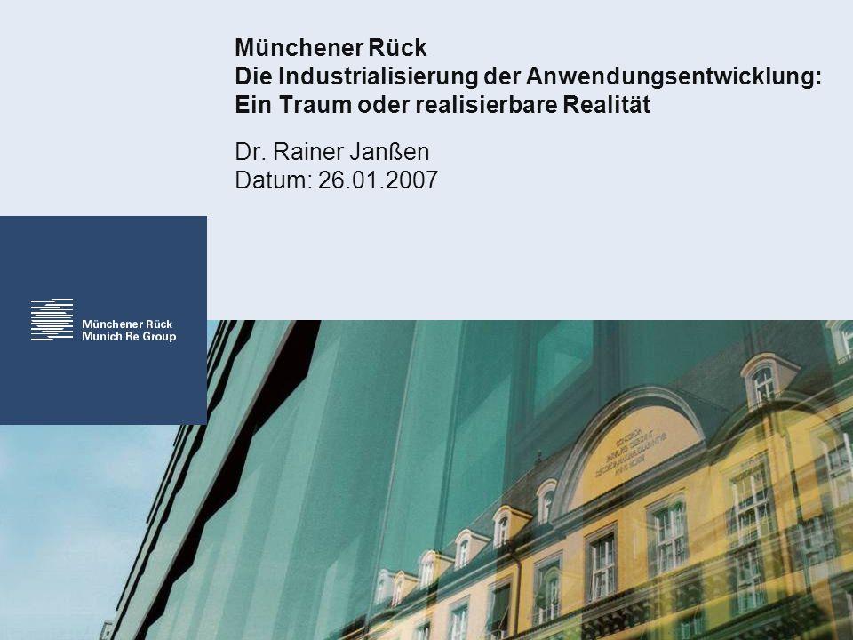 Dr. Rainer Janßen Datum: 26.01.2007