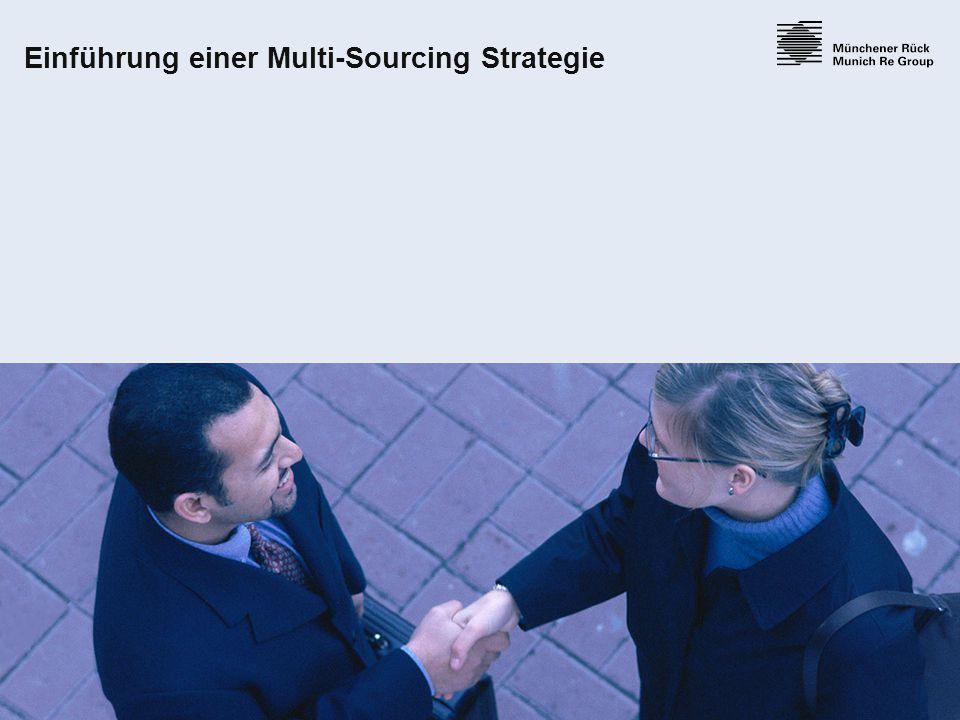 Einführung einer Multi-Sourcing Strategie