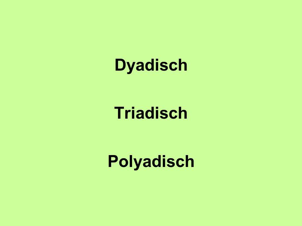Dyadisch Triadisch Polyadisch