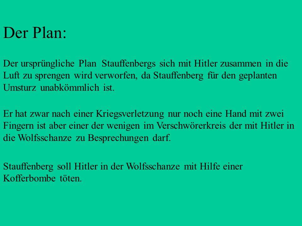 Der Plan: