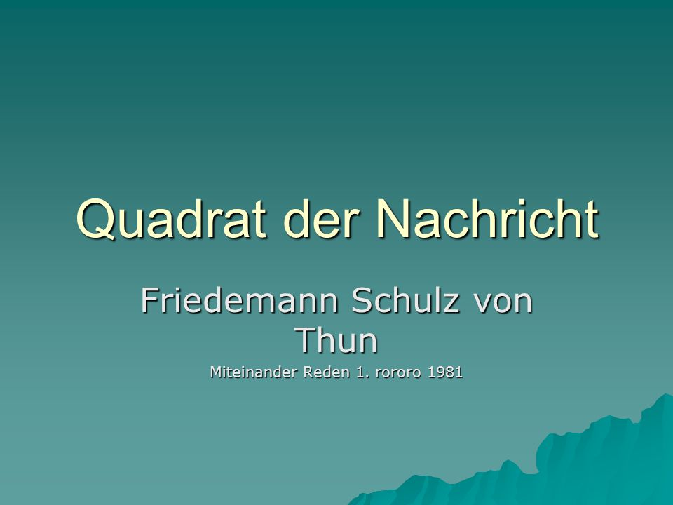 Friedemann Schulz von Thun Miteinander Reden 1. rororo 1981