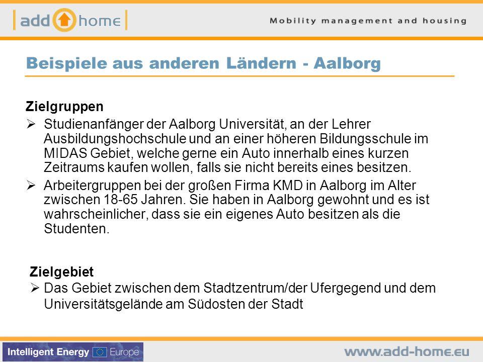 Beispiele aus anderen Ländern - Aalborg