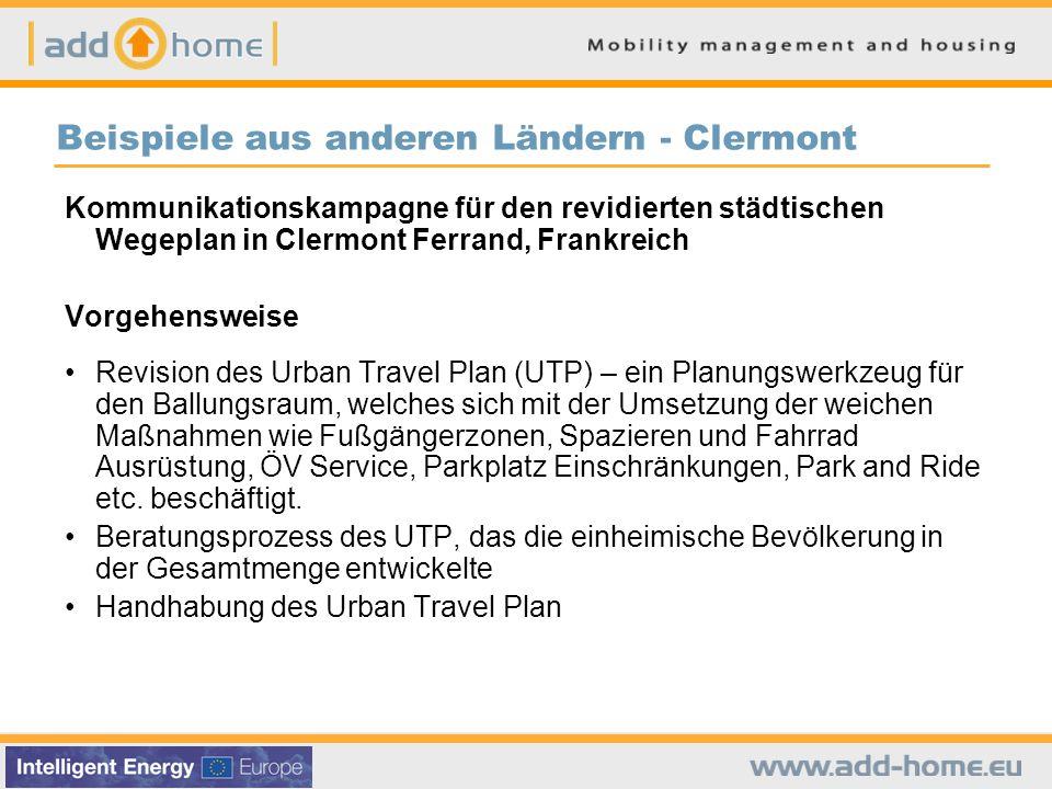 Beispiele aus anderen Ländern - Clermont