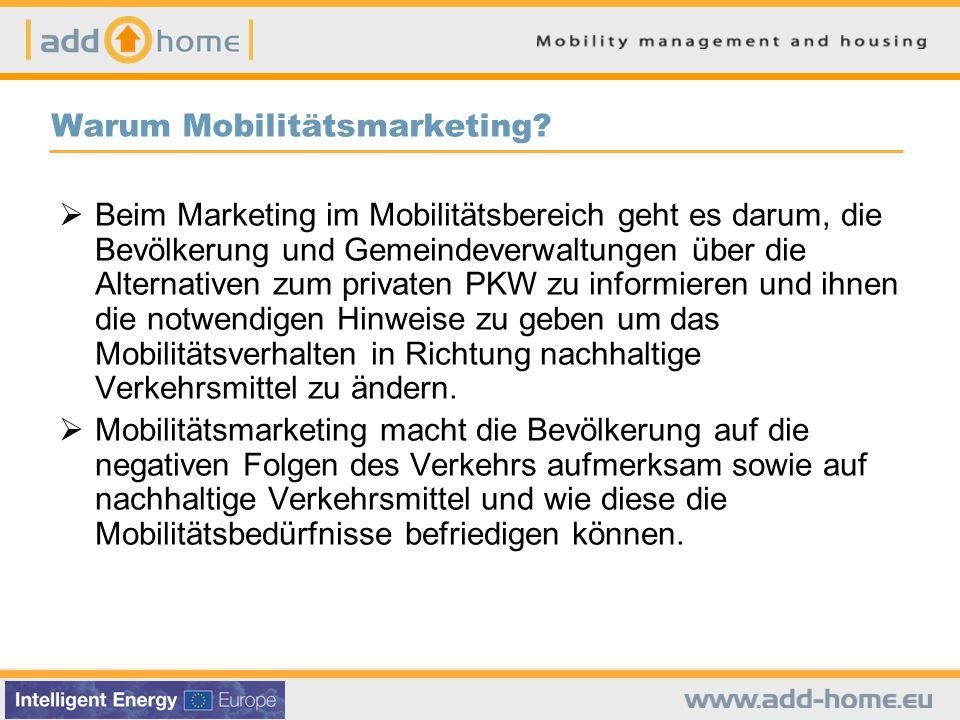 Warum Mobilitätsmarketing