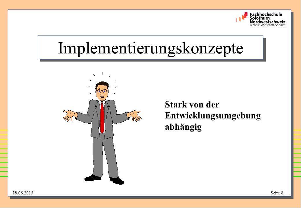 Implementierungskonzepte