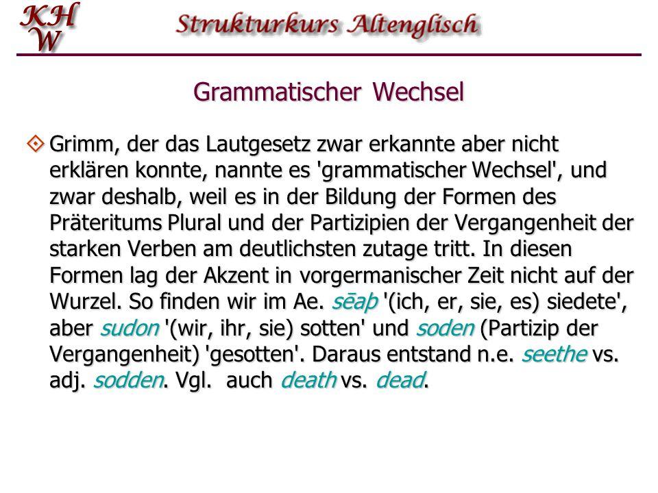 Grammatischer Wechsel
