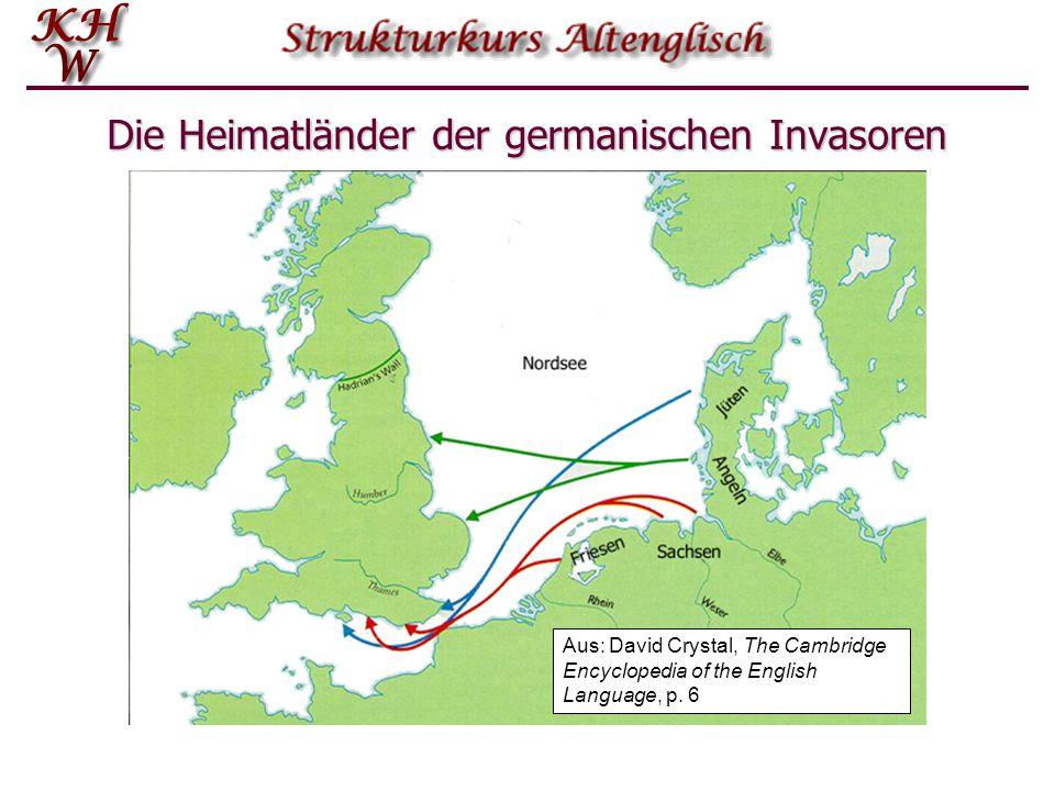 Die Heimatländer der germanischen Invasoren