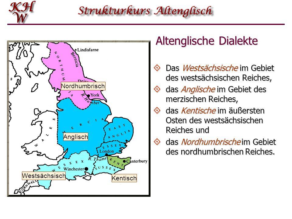 Altenglische Dialekte
