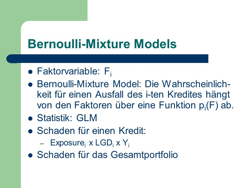Bernoulli-Mixture Models