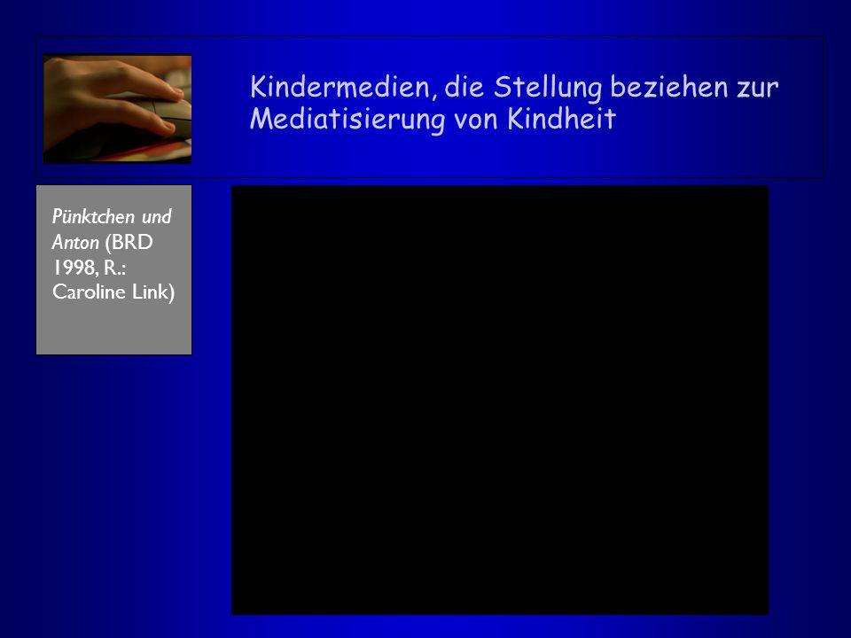 Kindermedien, die Stellung beziehen zur Mediatisierung von Kindheit