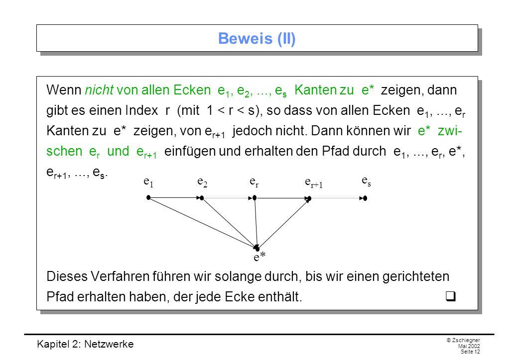Beweis (II)