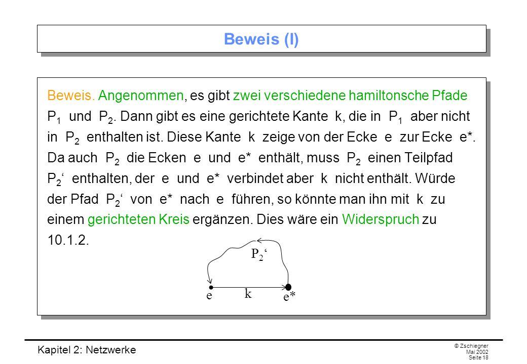 Beweis (I)