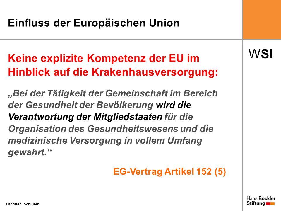 Einfluss der Europäischen Union