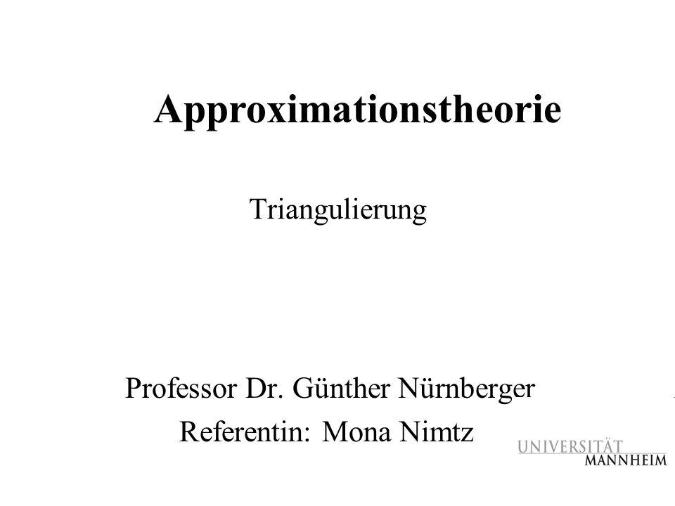 Professor Dr. Günther Nürnberger Referentin: Mona Nimtz
