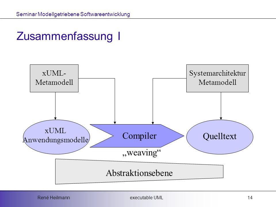 "Zusammenfassung I Compiler Quelltext ""weaving Abstraktionsebene"