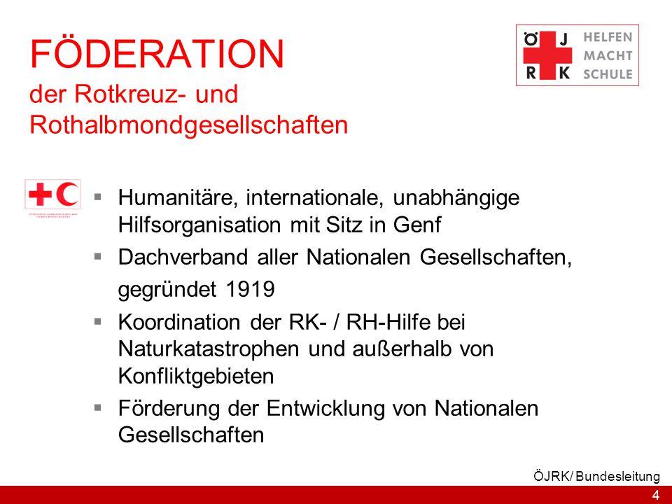 FÖDERATION der Rotkreuz- und Rothalbmondgesellschaften