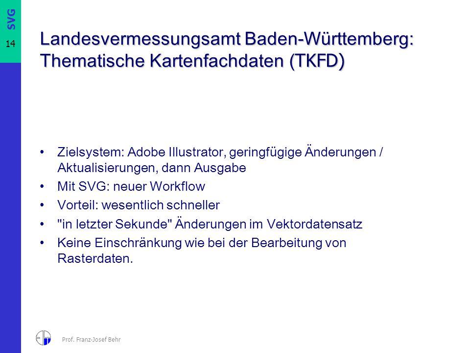Landesvermessungsamt Baden-Württemberg: Thematische Kartenfachdaten (TKFD)