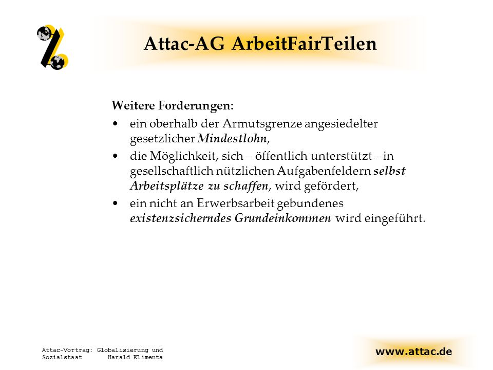 Attac-AG ArbeitFairTeilen