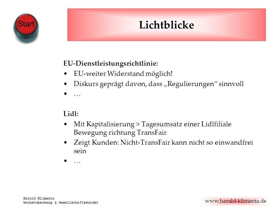 Lichtblicke EU-Dienstleistungsrichtlinie: