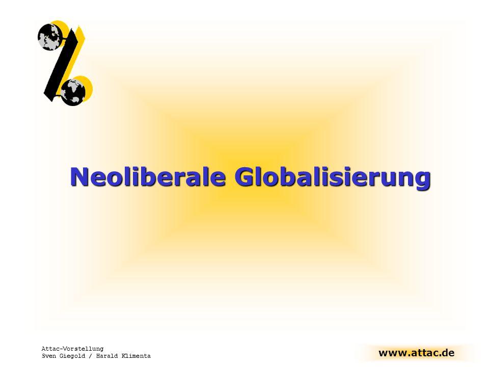 Neoliberale Globalisierung