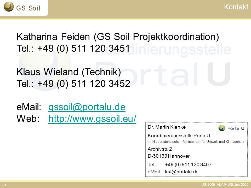 Katharina Feiden (GS Soil Projektkoordination)