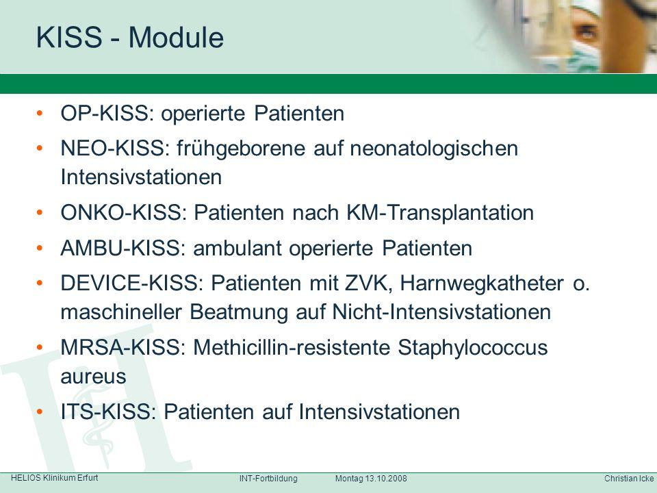 KISS - Module OP-KISS: operierte Patienten