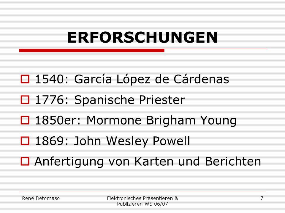 Elektronisches Präsentieren & Publizieren WS 06/07