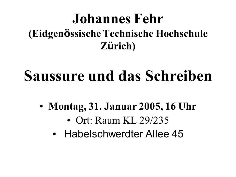 Johannes Fehr (Eidgenössische Technische Hochschule Zürich)
