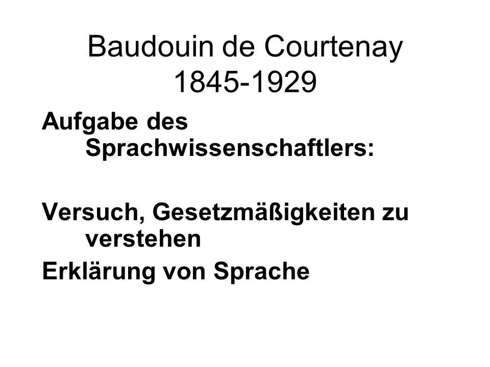 Baudouin de Courtenay 1845-1929