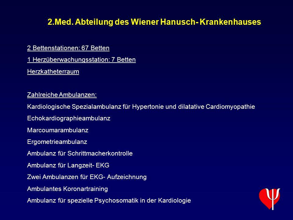 2.Med. Abteilung des Wiener Hanusch- Krankenhauses