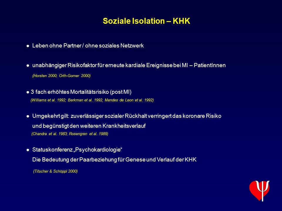 Soziale Isolation – KHK