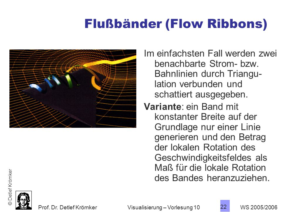 Flußbänder (Flow Ribbons)