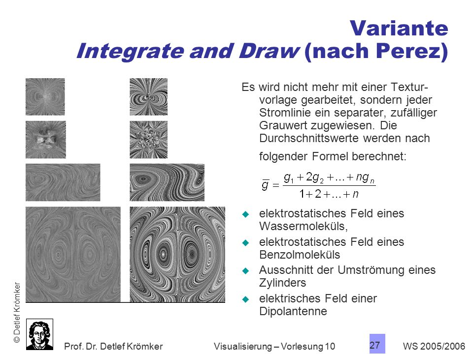 Variante Integrate and Draw (nach Perez)