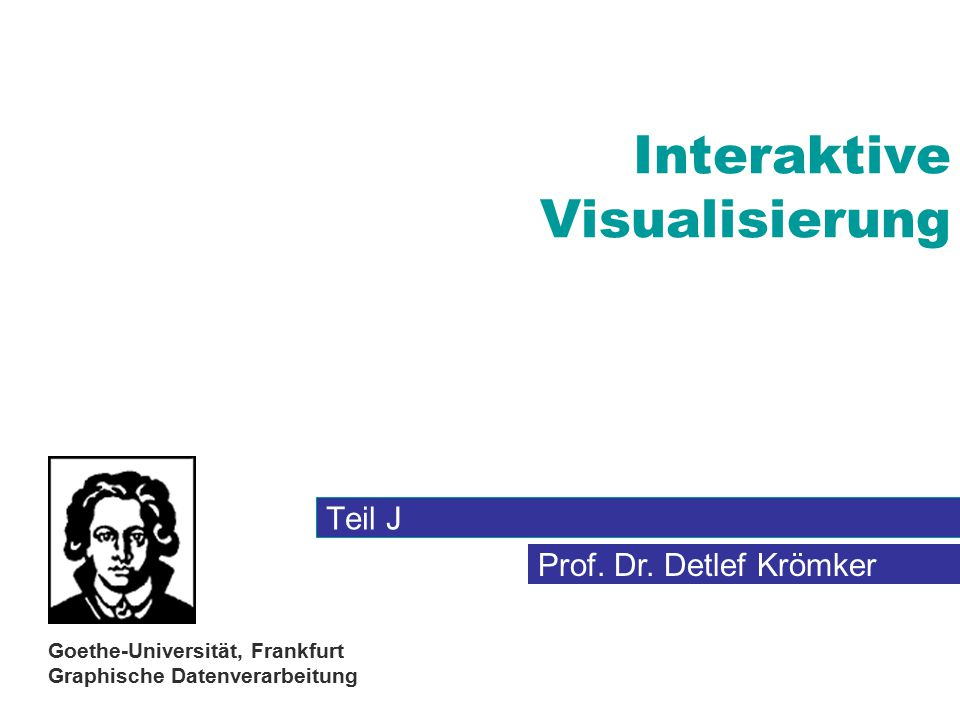 Interaktive Visualisierung