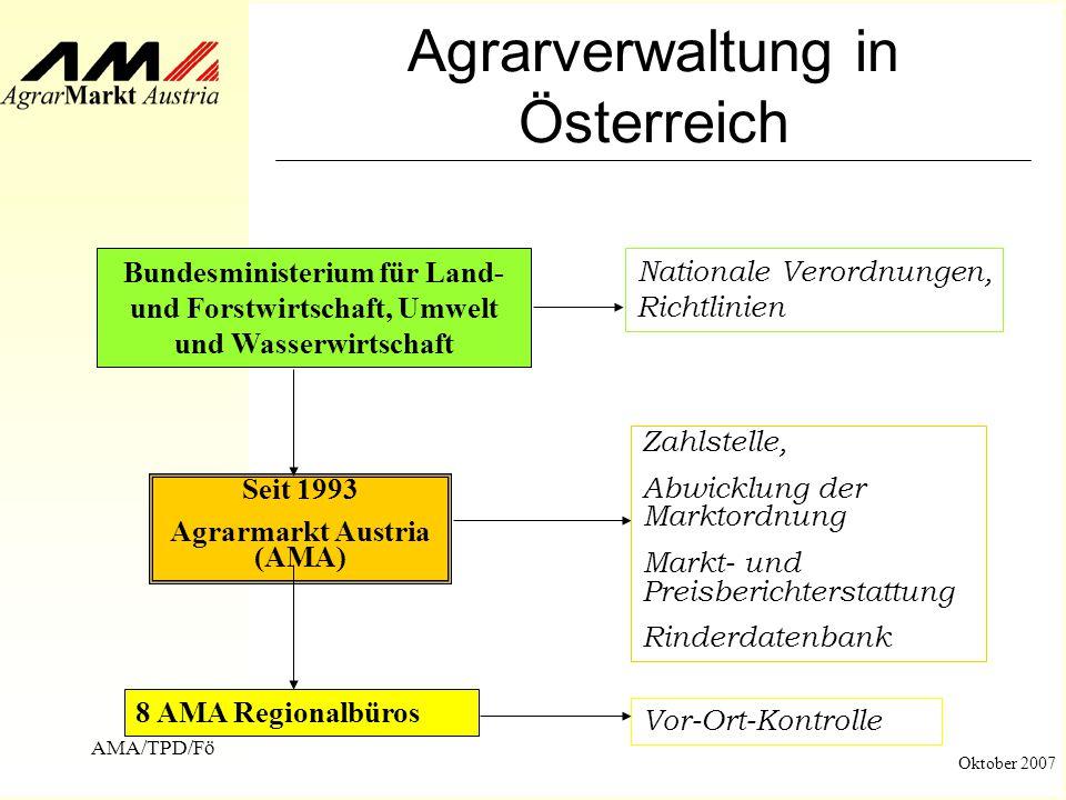 Agrarverwaltung in Österreich