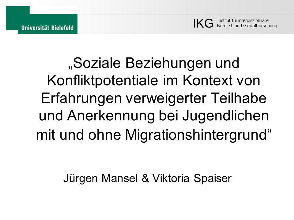 Jürgen Mansel & Viktoria Spaiser