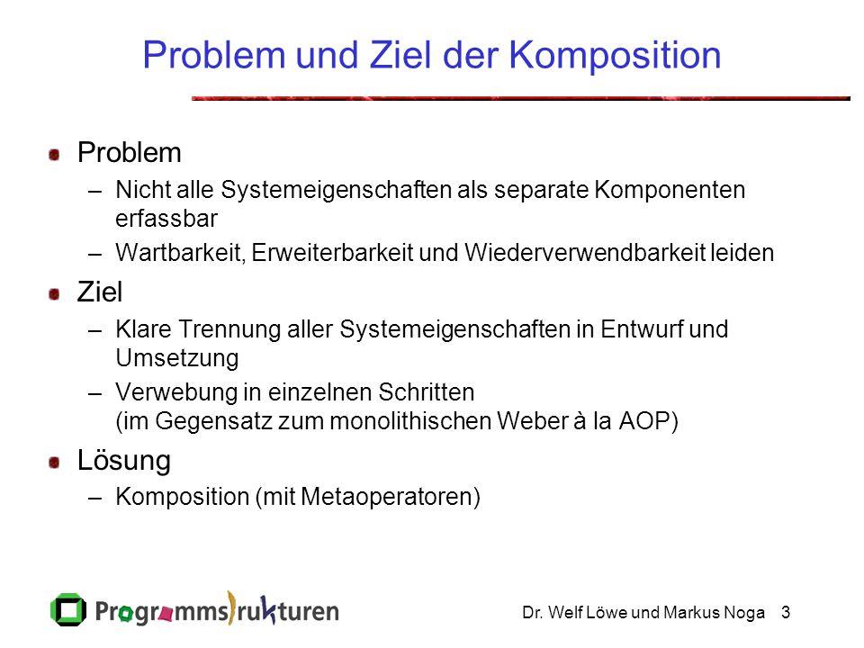 Problem und Ziel der Komposition