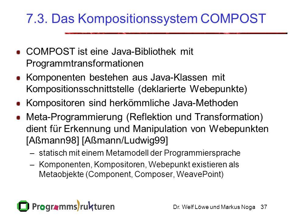 7.3. Das Kompositionssystem COMPOST