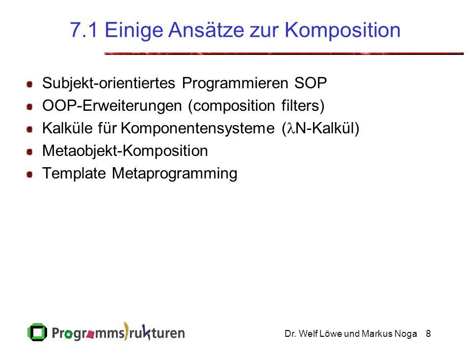 7.1 Einige Ansätze zur Komposition