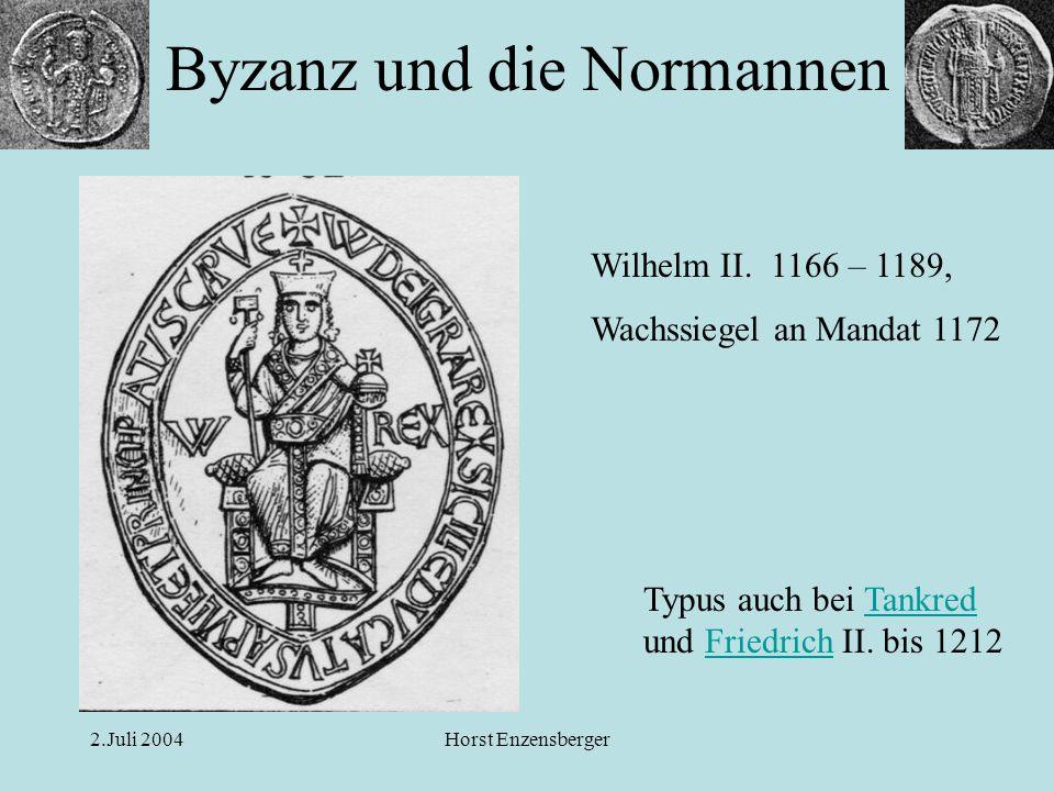 Byzanz und die Normannen