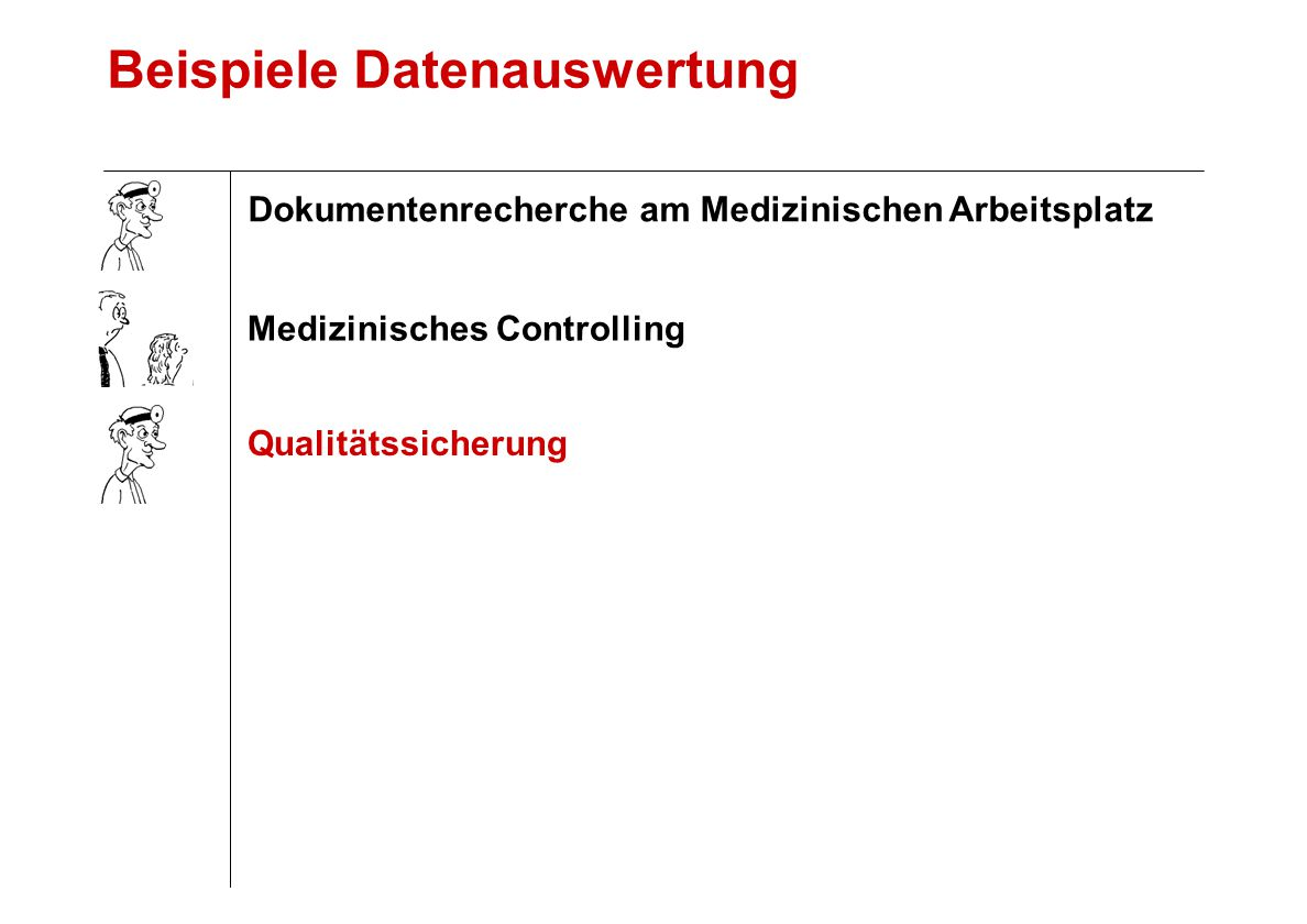 Beispiele Datenauswertung