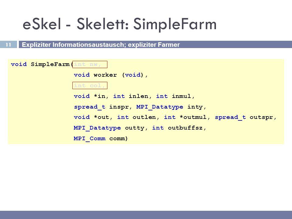 eSkel - Skelett: SimpleFarm