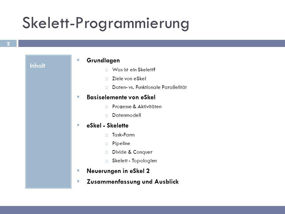 Skelett-Programmierung